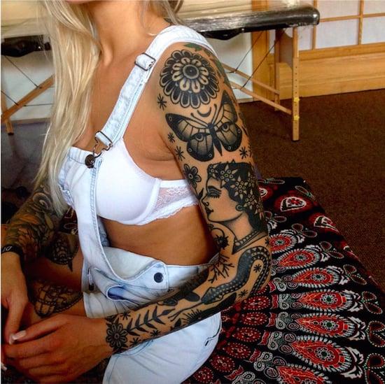 Pretty Sleeve Tattoos