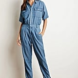 I've been wanting a denim jumpsuit since before the Summer started, and now that the weather's getting cooler, it's time to make that purchase. This option from Forever 21 ($35) is easy, affordable, and will help me channel my inner Gwen Stefani.  — SS