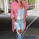 How Rihanna Styled It