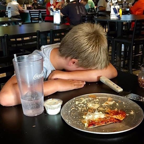 Kid's Reaction to Adult Meals Not Coming With Ice Cream