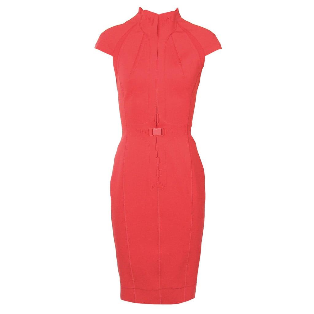 Scuba Zipper Front Dress