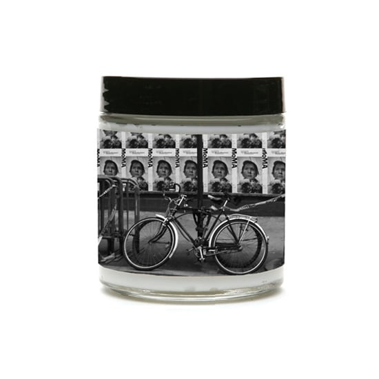 Uptown Soap Co.'s adorably chic East Village Bicycle Organic Body Cream ($16), scented with Anju pear, looks just as good as it smells inside.