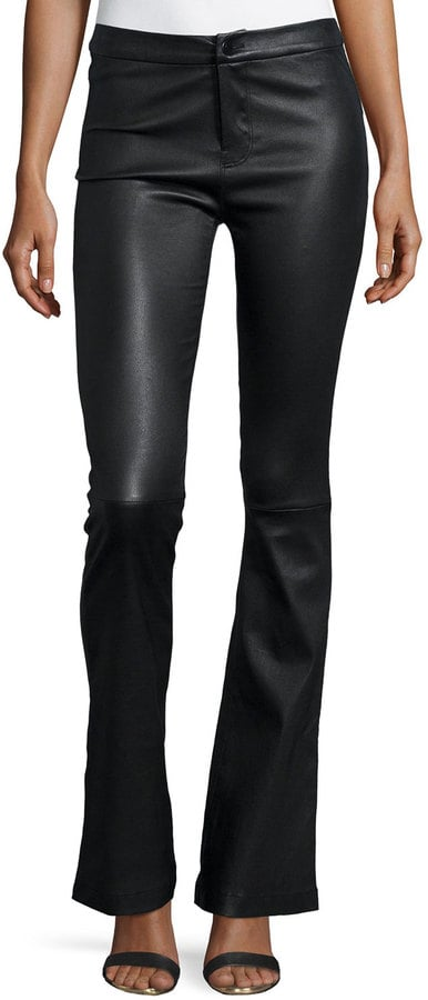 J Brand Flared Leather Pants ($1,278)