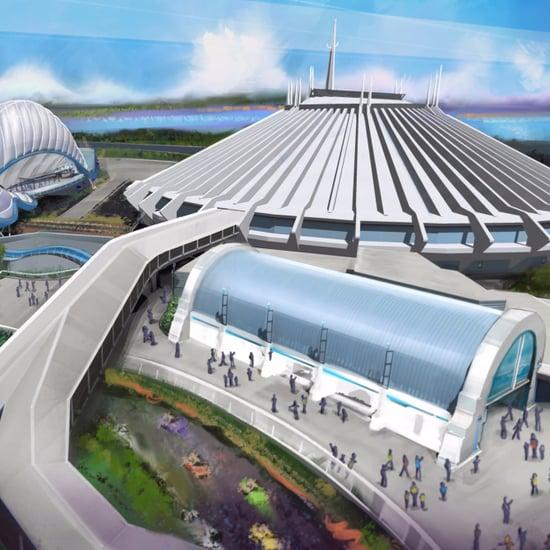 Tron Roller Coaster at Disney World