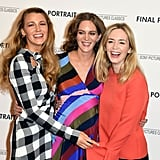 Meryl Streep and Emily Blunt at Final Portrait Premiere