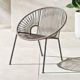 Ixtapa Grey Outdoor Lounge Chair