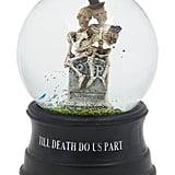 Til Death Skeleton Globe