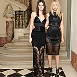 Kendall and Gigi Kept It Sexy and Sheer For a Cocktail Party