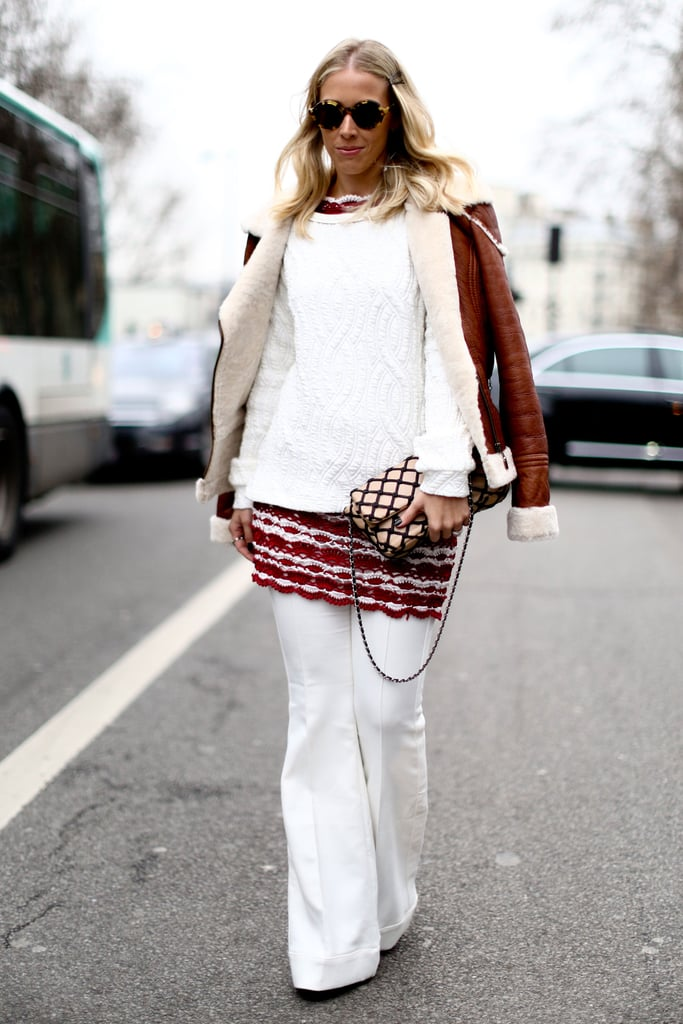 White on white with splashes of texture and a flash of rich color.
