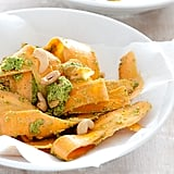 Shaved Carrot and Pesto Salad