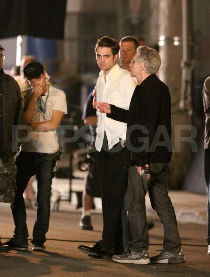 Robert Pattinson Gets Serious For a Late Night Shooting Cosmopolis