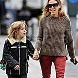 Sarah Jessica Parker and James Wilkie Broderick enjoyed each other's company.