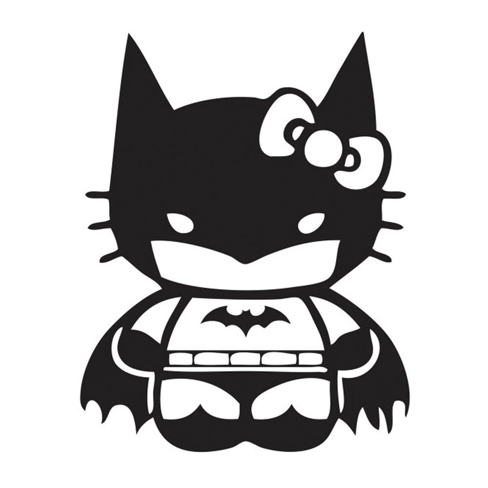 Hello Kitty Meets Batman?