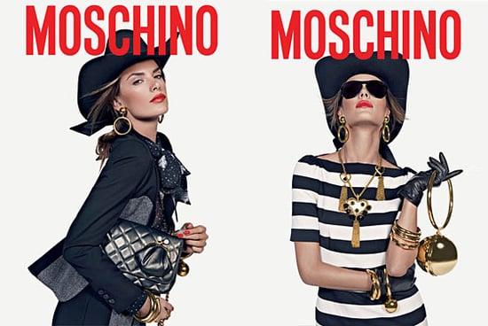 Photos of Alessandra Ambrosio in the Moschino Autumn Winter Ad Campaign
