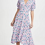 Faithfull The Brand Marie Louise Midi Dress