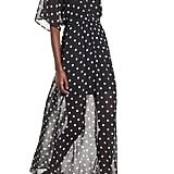 Love, Fire Chiffon Maxi Dress