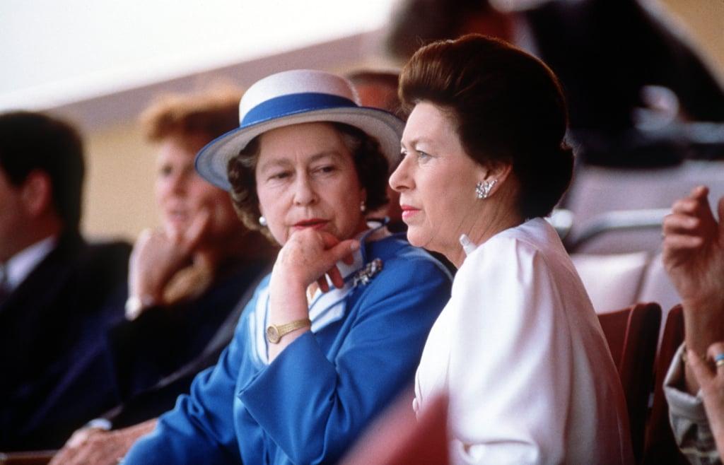 Queen Elizabeth II and Princess Margaret Pictures | POPSUGAR