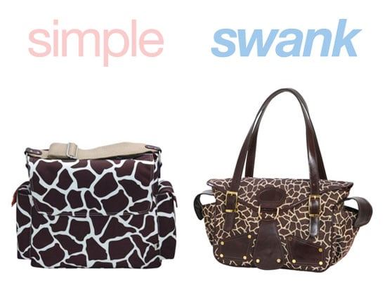 Simple or Swank: Diaper Bags