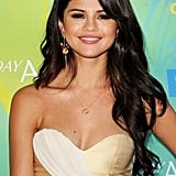 Selena Gomez's Smoky Eye in August 2011
