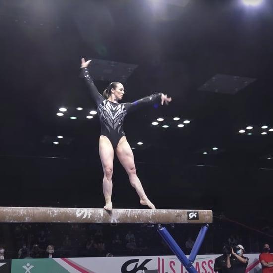 Watch Chellsie Memmel's Gymnastics Comeback 2021 US Classic
