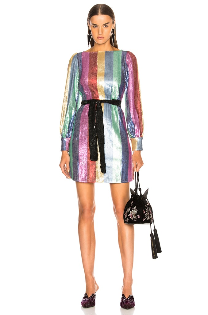Kendall Jenner S Striped Ralph Lauren Dress Popsugar Fashion