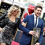 Michael Bublé at Hollywood Walk of Fame Ceremony 2018