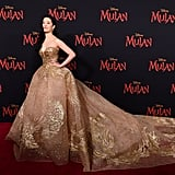 Liu Yifei at the World Premiere of Mulan in LA