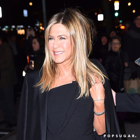 Jennifer Aniston Talks About Coat on Jimmy Kimmel 2016