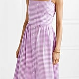 HVN Laura Gingham Cotton Dress