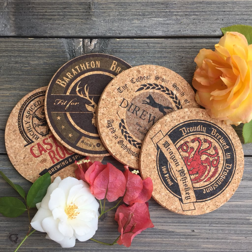 Game of Thrones Pub-Style Cork Coasters