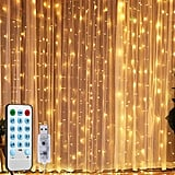 Window Curtain String Lights