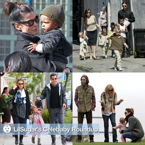 Pictures of Celebrities and Their Babies 2011-03-21 15:45:02