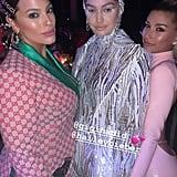 Ashley Graham Hung Out With Gigi Hadid and Hailey Baldwin