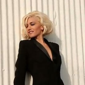 Video of Gwen Stefani Shooting L'Oreal Commercial on the Hollywood Sign