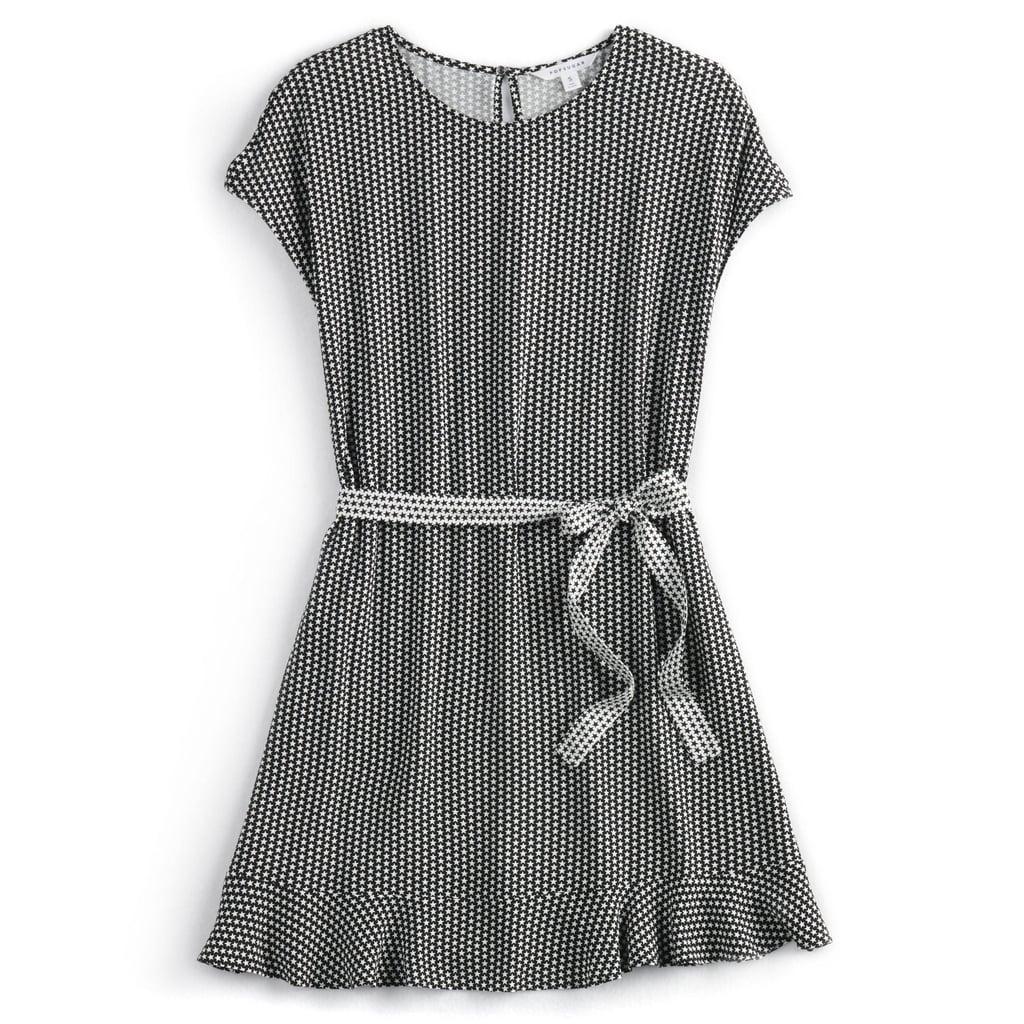 Star-Print Dress