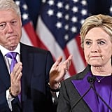 Hillary Clinton's Purple Blazer at Concession Speech 2016