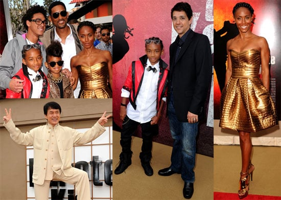 Pictures of Will, Jada, Jaden, Willow Smith From The Karate Kid Premiere