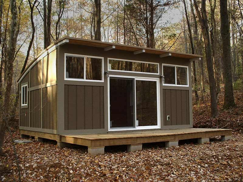 The MetroCABIN costs buyers less than $35,000, which is a great price to pay for cozy living that can be built in under four weeks! A space this small is low maintenance, fits pretty much anywhere, and won't break the bank. Sounds like the perfect home! Source: Metro PreFab by David Ballinger