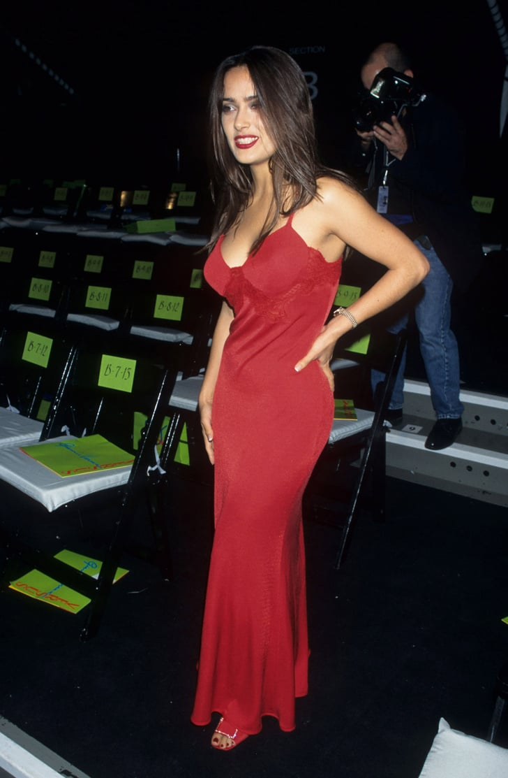 Salma Hayek S Sexiest Dresses Popsugar Latina