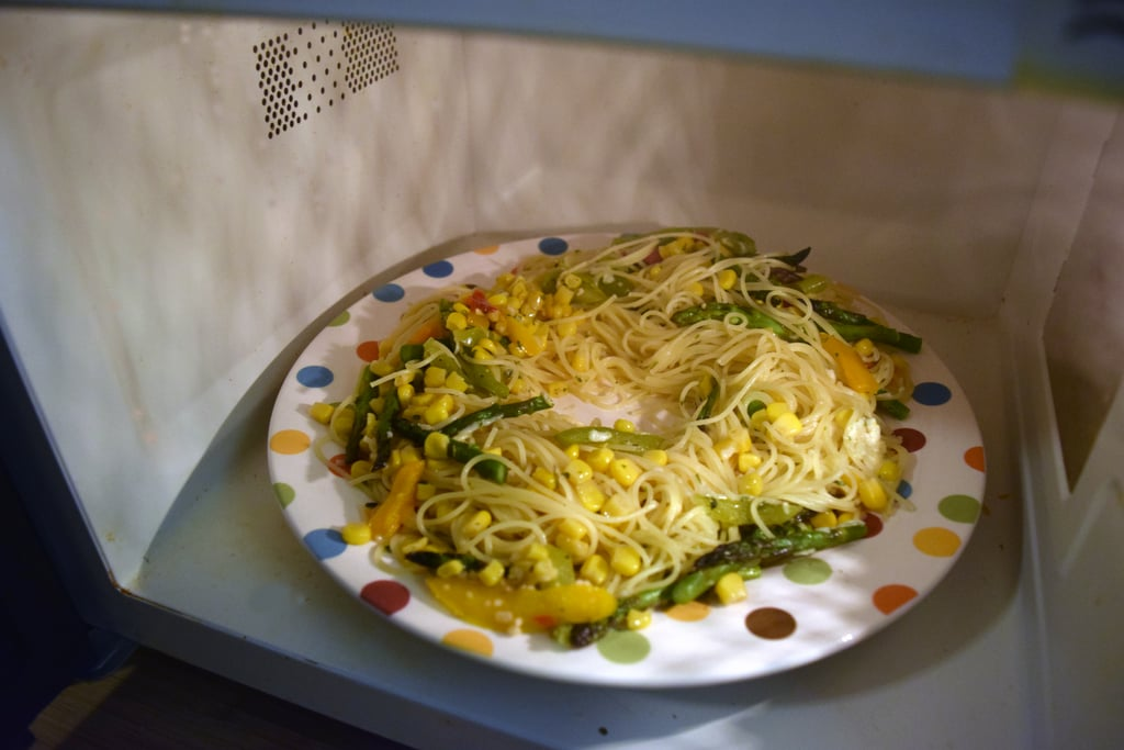 Microwaving Leftovers