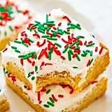 Snickerdoodle Bars With Cream Cheese Frosting