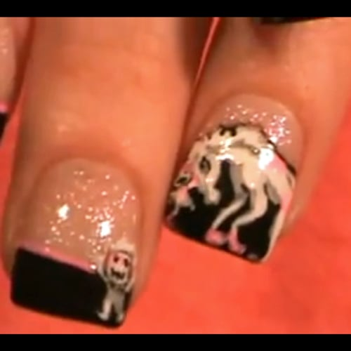 Robot Unicorn Stabbing an Evil Baby Manicure