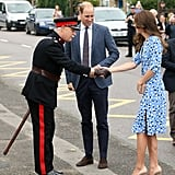 Prince William Kate Middleton at Stewards Academy Sept. 2016
