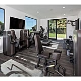 There's really no need to leave the house when there's a fully equipped gym included.