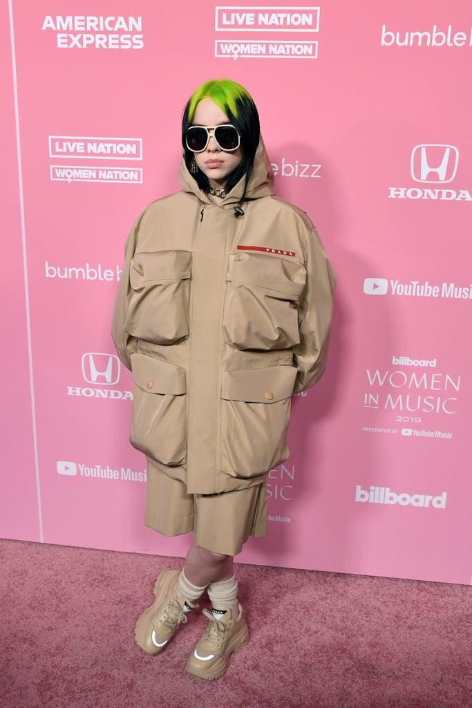Billie Eilish at the 2019 Billboard Women in Music Event