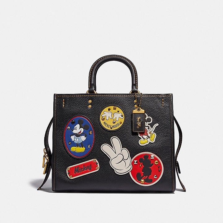 Disney X Coach Rogue With Patches