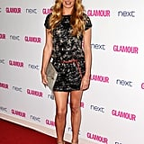Cat Deeley in Matthew Williamson