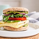 Avocado, Egg, and English Muffin Sandwich