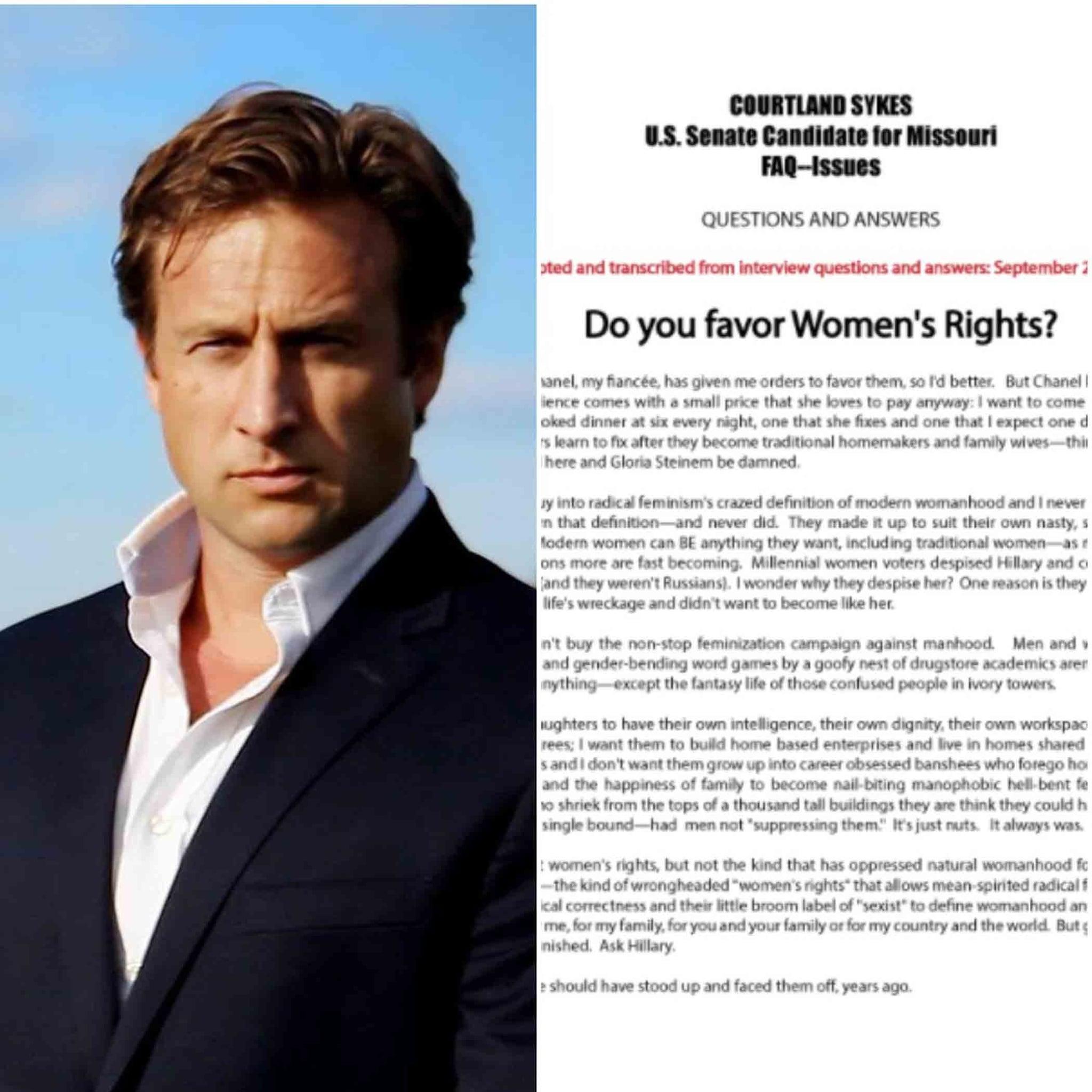 Missouri Senator Comments on Women's Rights | POPSUGAR Family
