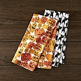 Halloween Cats & Pumpkins Dish Towels ($13 set of 2)